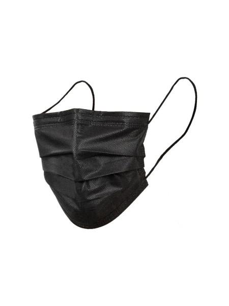 kirurška maska Virazon črna