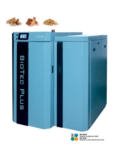 Dvokuriščni kotel BioTec Plus 25