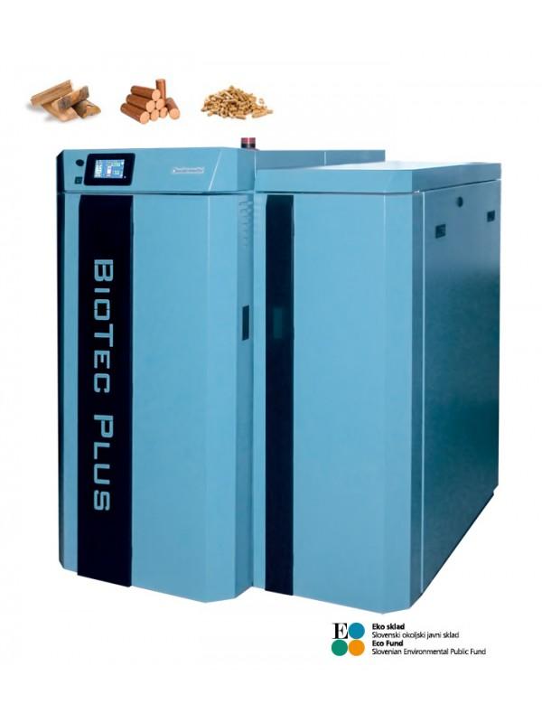 Dvokuriščni kotel BioTec Plus 35