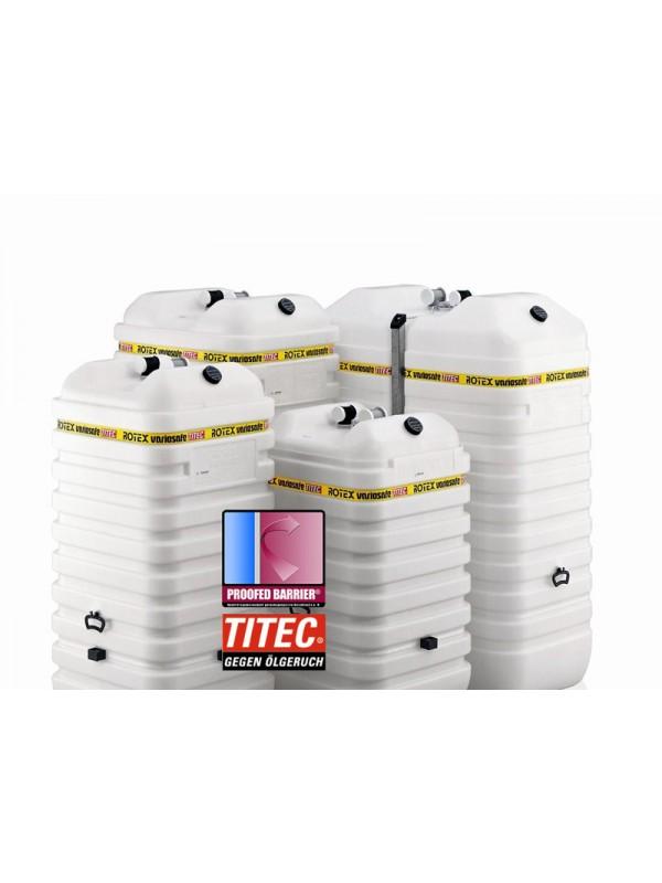 Cisterna Rotex Variosafe - dvoplaščni rezervoar - 1500 l