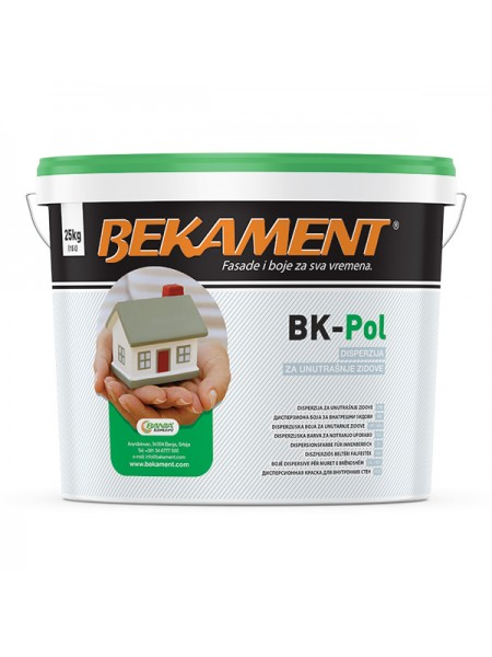 Bekament BK-POL notranja barva 25 kg
