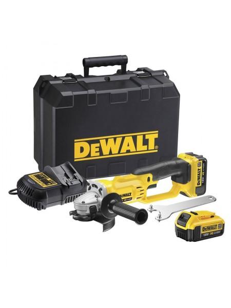 DeWALT Aku kotni brusilnik DCG412M2 – 18V 4,0 Ah Li-Ion