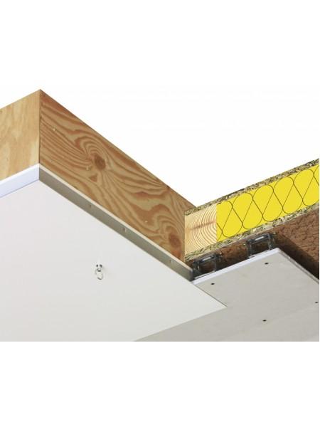 Podstrešne stopnice Domix z oblogo 60 x 120 cm