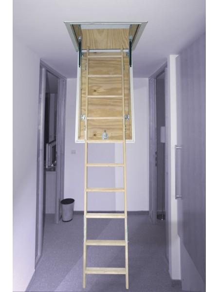 Podstrešne stopnice Domix z oblogo 70 x 110 cm