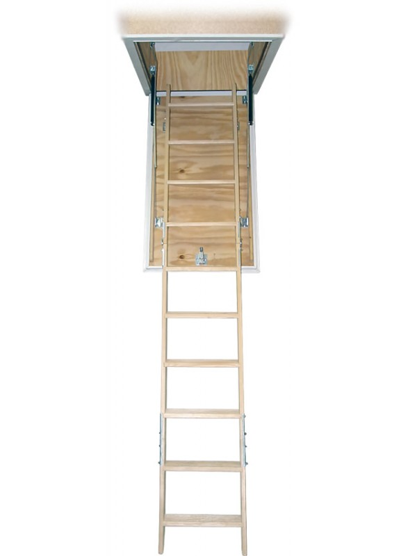 Podstrešne stopnice Domix z oblogo 60 x 110 cm
