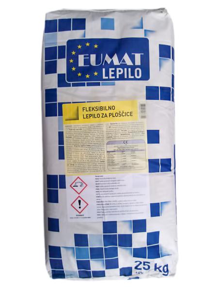 Fleksibilno lepilo za ploščice EUMAT