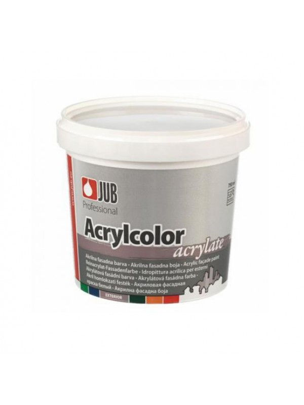 Akrilna fasadna barva Jub Acrylcolor 0,75l