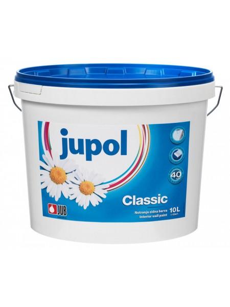 Jupol Classic - bela notranja barva 10l