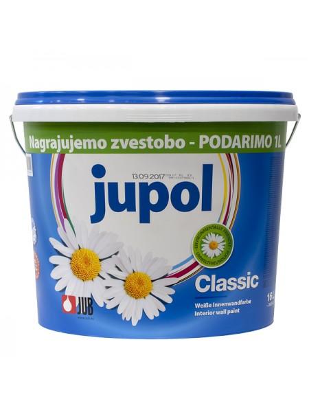 Jupol Classic - bela notranja barva 16l