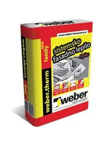 Fasadno lepilo Weber.therm Family grob 25kg